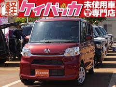 タントL 4WD 届出済未使用車 両側スライドドア シートヒーター