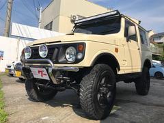 ジムニーXS 4WD 5速MT ターボ リフトアップ マットタイヤ