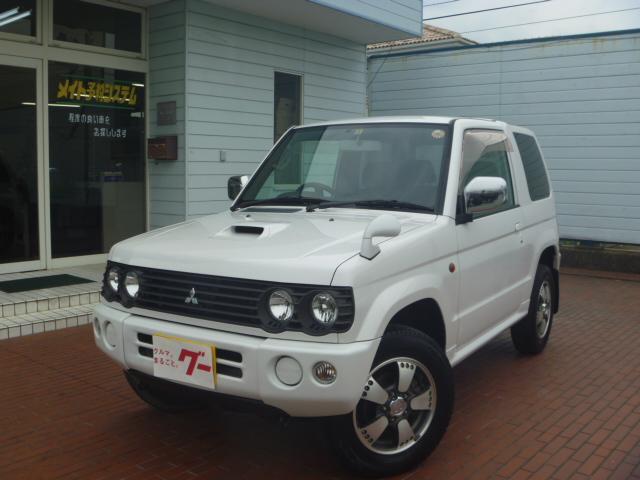 三菱 リンクスVホワイトED 4WD 純正アルミ 社外ナビ ETC
