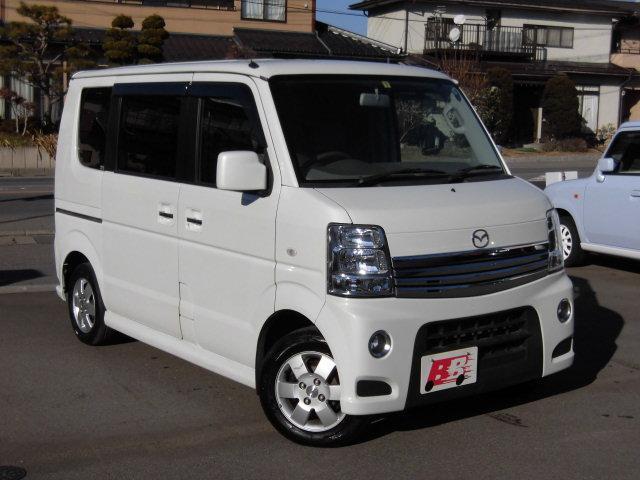 マツダ PZターボ 4WD 社外ナビ/Bモニター