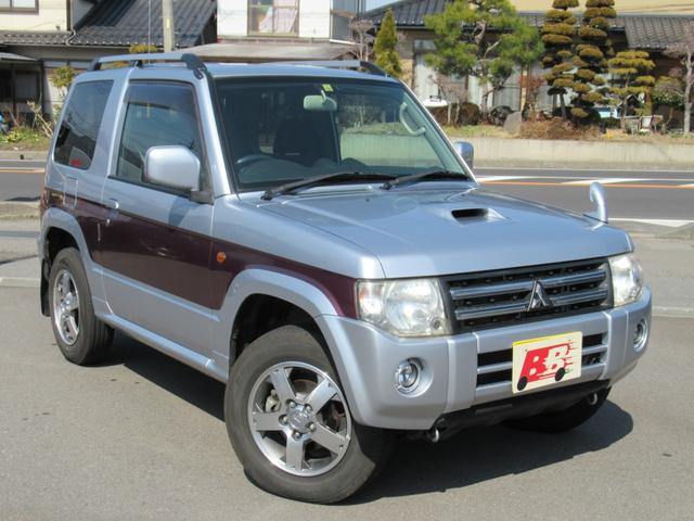 三菱 パジェロミニ エクシード 4WD AT ETC