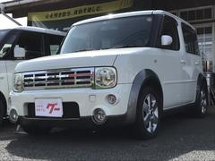 キューブトラビスオーテック 4WD DVDナビ キーレス 15アルミ