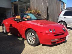 アルファスパイダー3.2 V6 24V ディーラー車 6速MT 電動オープン