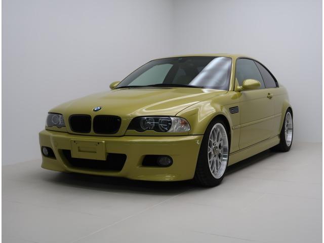 BMW M3クーペ ガラスモール交換済 KWVer3車高調
