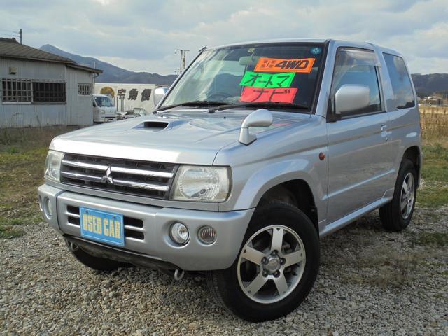 三菱 アクティブフィールドエディション 4WDターボ 関東登録車