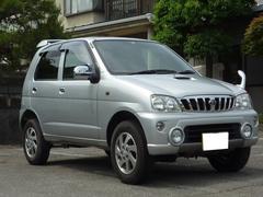 テリオスキッドX 4WD ターボ エアコン キーレス 社外CD アルミ