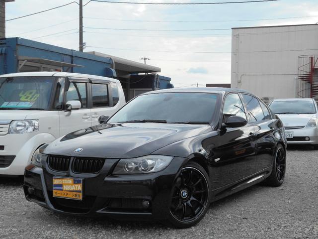 BMW 3シリーズ 323i Mスポーツパッケージ ナビTV バックカメラ CD/MD ETC プッシュスタート アルミ パワーシート HIDライト