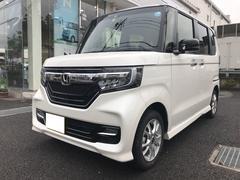 N BOXカスタムG・Lホンダセンシング 4WD 両側電動ドア ツートンルーフ