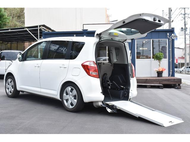トヨタ 福祉車両スローパー 5人乗 車いす電動固定後退防止装置