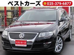 VW パサートヴァリアントV6 4モーション 4WD ナビ TV 黒革シート 関東仕入