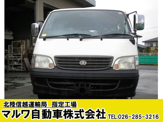 トヨタ デラックス ロング4WDAT10人走行9.8万k