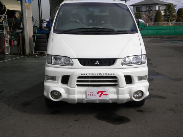 三菱 シャモニー 4WD AT ナビ ETC 8人