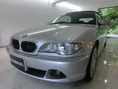 BMW330Ciカブリオーレ ワンオーナー 黒革 禁煙車 純正ナビ