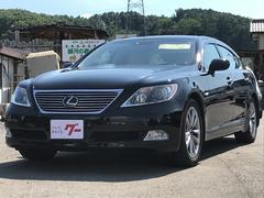 LSLS460L ロング 白革電動シート ナビ クルコン ETC