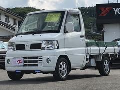 クリッパートラック4WD CD 12インチAW スタッドレスタイヤ付き AT