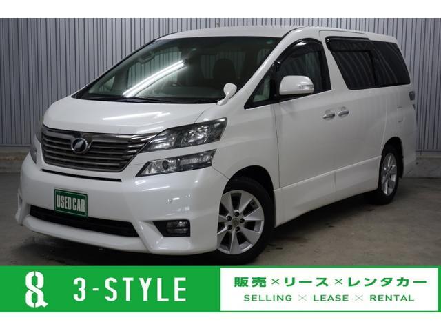 トヨタ 2.4Z プラチナムセレクション 純正HDDナビ&地デジ