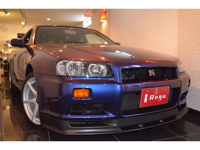 日産 GT-R Vスペック ミッドナイトパープルIII 限定カラー