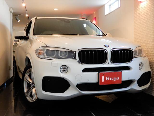 BMW X5 xDrive 35d Mスポーツ 禁煙車 室内保管
