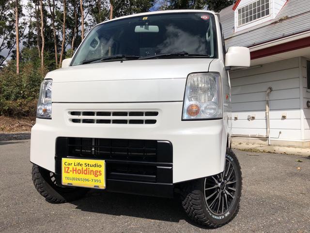 スズキ JPターボ 4WD リフトアップ 新品タイヤ&アルミ
