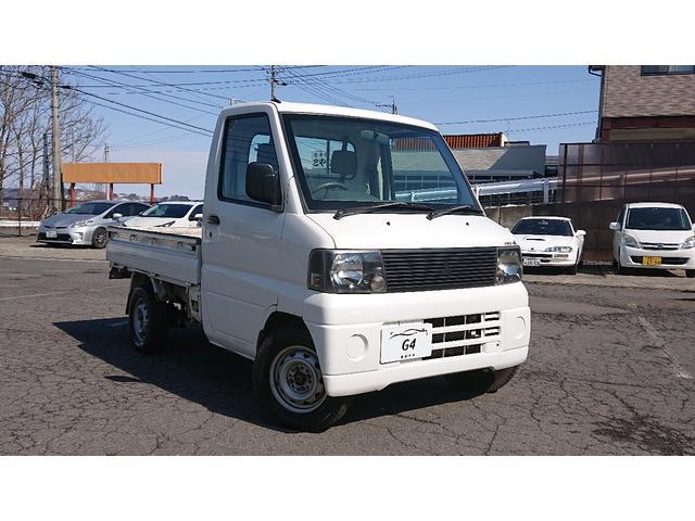 三菱 ダンプ 4WD 5MT H/L切替 85200km走行