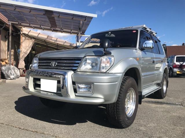 トヨタ TXリミテッド 4WD サンルーフ AW オーディオ付 ETC 8名乗り 3列シート  AC パワーウィンドウ