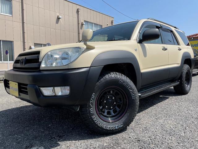 トヨタ ハイラックスサーフ SSR-X 4WD デイトナ/タイヤ新品 塗装仕立 ナビ ワンセグTV バックカメラ キーレス