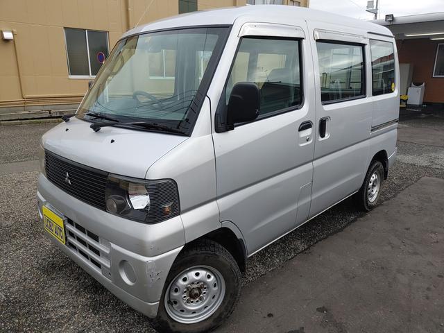 三菱  バン660CDハイルーフ 4WD