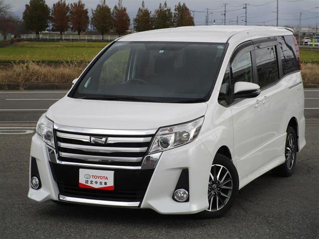トヨタ ノア Si メモリーナビ・テレビフルセグ・バックモニター・デュアルパワースライドドア・ローダウン・4WD