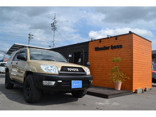 トヨタ ハイラックスサーフ SSR-G 4WD ベージュ(全塗装済み)タイベル交換済み