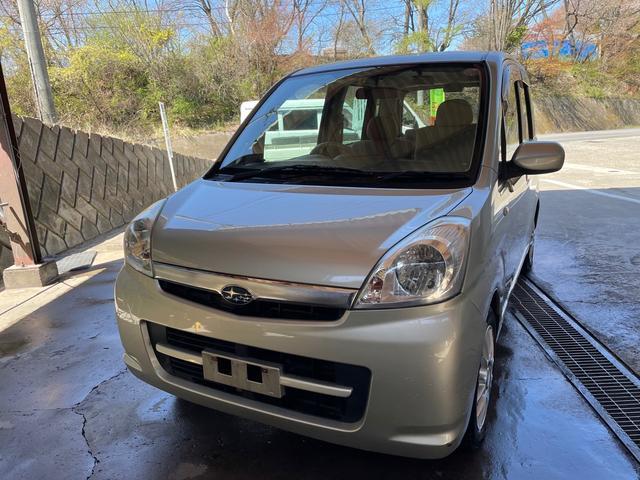 スバル ステラ LX 助手席電動昇降シート ドライブレコーダー 4WD