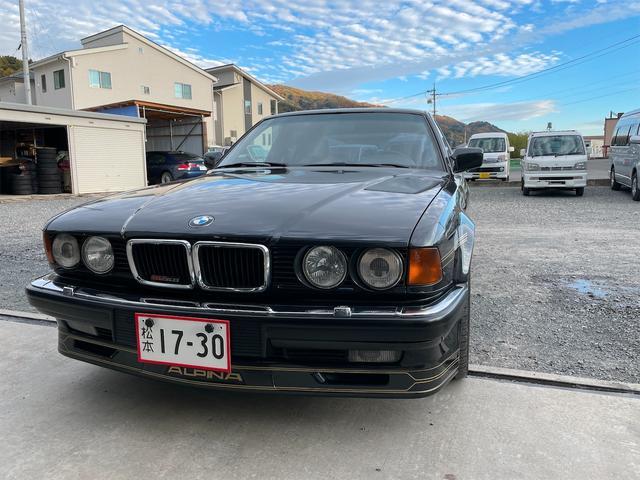 BMWアルピナ B12 5.0 世界生産305台 ニコルディーラー車 オリジナルペイント フルノーマル V12気筒 ダッシュボードヒビ割れなし ウッドパネルひび割れなし 現状販売