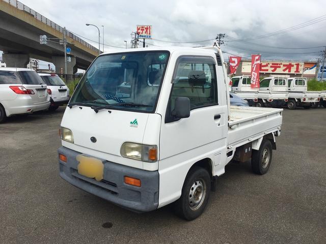 スバル サンバートラック JA 4WD CD エアコン サイドバイザー