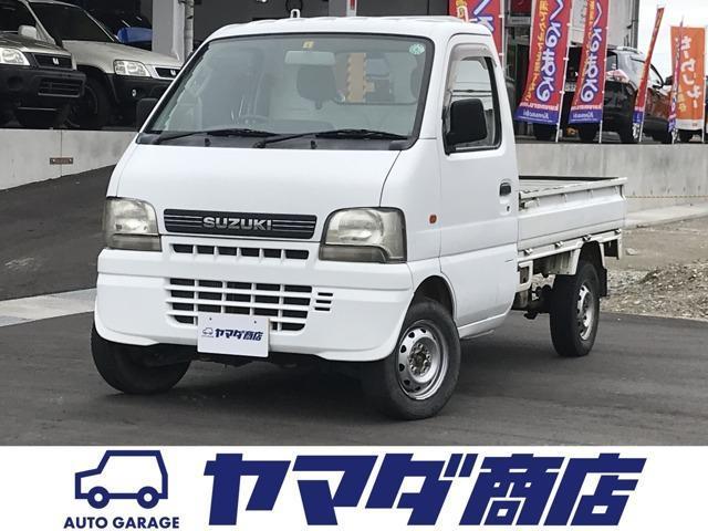 スズキ キャリイトラック KU 3方開 4WD 5速MT エアコン パワステ