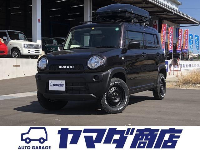 スズキ ハスラー A 5MT 4WD 関東仕入 リフトアップ 新品マッドタイヤ 旧エンブレム キャリア