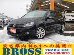 VW ゴルフTSIハイライン SDナビTV 本革シート 関東仕入