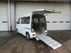 アトレーワゴン4WDターボ スローパーリヤシート付4人乗り 福祉車両