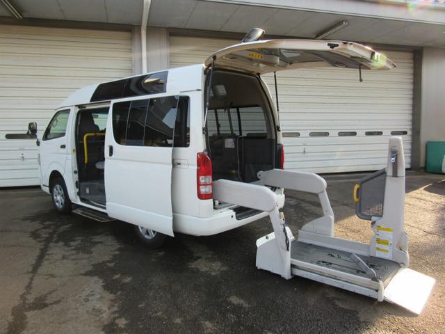 トヨタ 4WD ウェルキャブ 車いす2基10人乗り 福祉車両