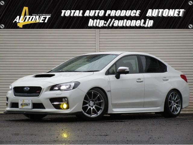 スバル STI SSR18AW TEIN車高調 フジツボマフラー