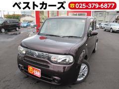キューブ15X FOUR Mセレクション 4WD 関東仕入