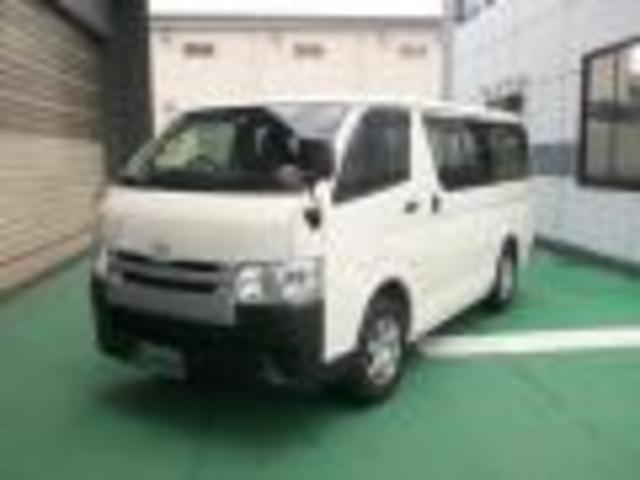 トヨタ ロングDX 4WDディーゼルターボ 9人乗り MナビTV