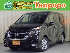 セレナハイウェイスター 4WD 8人乗り 純正SDナビ TV