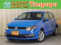 VW ポロTSIコンフォートライン 右ハンドル 7AT 純正ナビ TV
