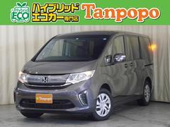 ステップワゴンG 4WD 8人乗り レンタUP 社外ナビ TV