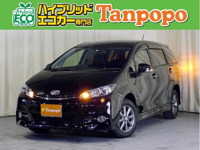 トヨタ 1.8Sモノトーン 4WD 7人乗り 純正SDナビ TV