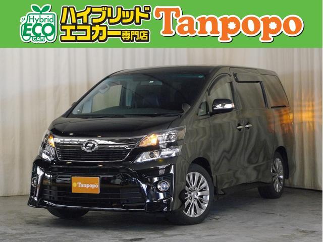 トヨタ 2.4Z ゴールデンアイズII 純正HDDナビ フルセグTV