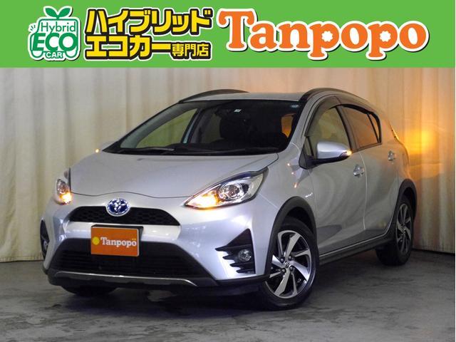 トヨタ クロスオーバー 衝突被害軽減ブレーキ 純正SDナビ TV