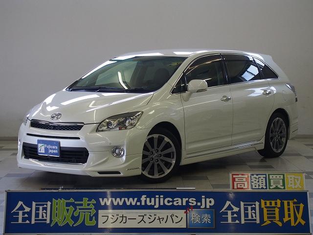 トヨタ 350G 純正HDDナビ 本革シート ケンスタイルエアロ