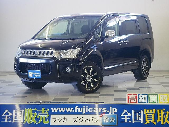 三菱 シャモニー 4WD 天吊モニター 両側電動 社外16AW
