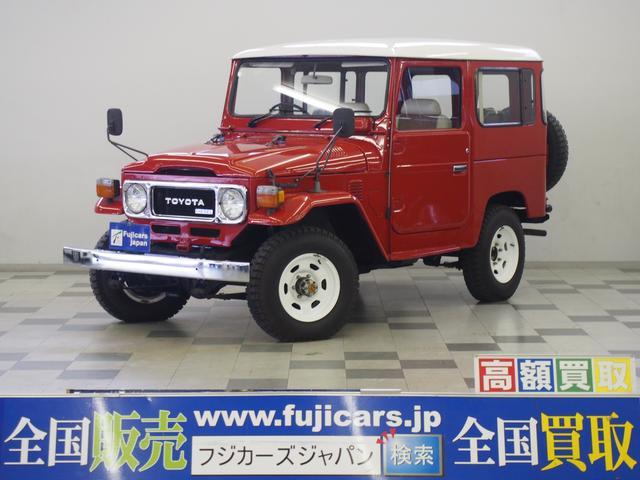 トヨタ 3.2D 観音開き メッキバンパー 4MT 背面タイヤ