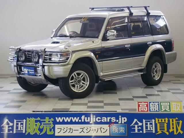 三菱 スーパーエクシード4WD 本革 サンルーフ ディーゼルターボ